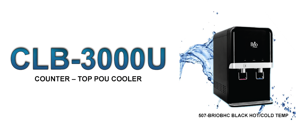 CLB-3000U Counter-Top POU Cooler